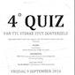 Vierde Quiz TTC Sterke Stut Oosterzele