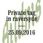Private Tag in Raversyde - Het tactiele atelier van kunstenaars in de openbare ruimte.