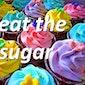Beat the sugar