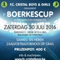 1e BOERKESCUP (voetbal) in Merchtem