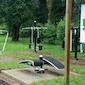 Inhuldiging outdoor fitnesstoestellen
