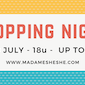 Shopping Night bij Madame She She (solden & stockverkoop)