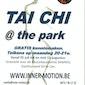 Tai chi @ the park