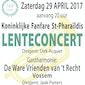 lenteconcert 29/04/2017