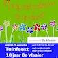 Tuinfeest - 10 jaar De Waaier