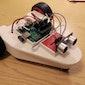 Ogen programmeren op een robotauto