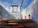 Tentoonstelling schilderijen Nicole Bruynseels