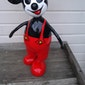 Mickey Mouse in papier-maché