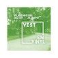 Platenbeurs - Vest en Vinyl