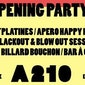 A210 Opening Party