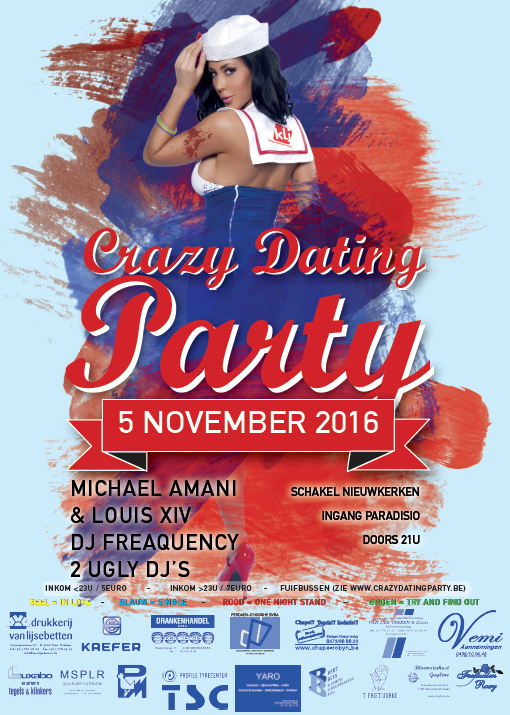 Crazy Dating Party 2016