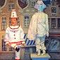 Poppentheater van Pierke van Alijn - Het stille standbeeld