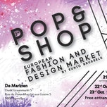 POP AND SHOP: European Fashion and Design Market 2016