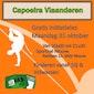 gratis initiatieles capoeira Ninove