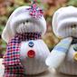 Maak je eigen sneeuwpopje!