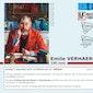 Poëzievoorstelling met klank en beeld over Emile Verhaeren - Dilbeek