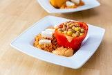 Feestelijke vegetarische hapjes, sauzen en (dip)sauzen