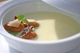 Feestelijke vegetarische soepen