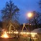 Kerstboomverbranding Scouts&Gidsen Hoeilaart