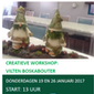 Creatieve workshop vilten boskabouter- VOLZET
