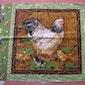 CREA : Paasdecoratie (werken met stofjes)