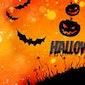 Bloemschikken op thema (Halloween)