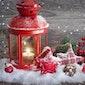 Bloemschikken op thema (eindejaarsfeesten)