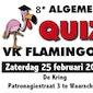 8e algemene quiz VK Flamingo's