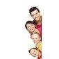 Gelukkige kinderen en gelukkige ouders