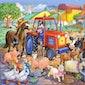 Het leven op de boerderij voor kleuters