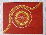 Aboriginal art dotpainting