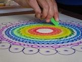 Mandala tekenen. De chakra ontdekkingstocht  7 lessen