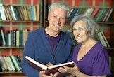 Senioren in de bib