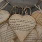 Valentijnhartjes in papier