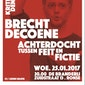 Brecht Decoene: achterdocht tussen feit en fictie