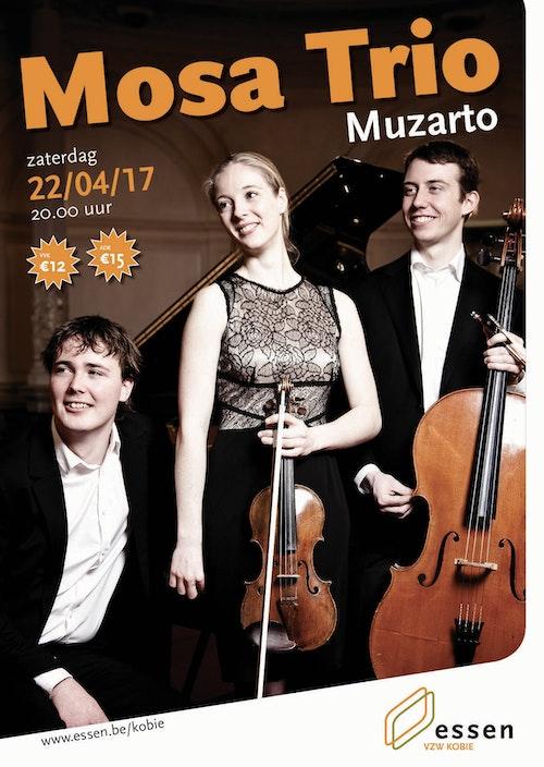 Mosa Trio - energiek pianotrio