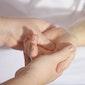 Aromatische massage van handen en onderarmen