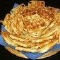 Groot wafel- en boterhammenfeest