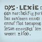 Lezing Hoop voor kinderen met dyslexie - dyscalculie