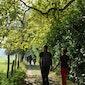 Opening nieuw wandelpad in Wormelaar