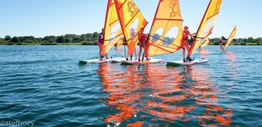 Introductieles windsurfen