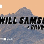Will Samson (release party) + Brumes