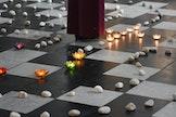 Stap een een labyrint, een weg van vertrouwen