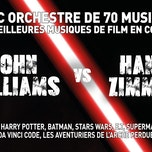 John Williams vs Hans Zimmer : the concert-event !