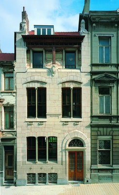 Het Autrique Huis: Interieur van een markant herenhuis van Victor Horta