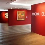 « Magma Cloud Ashes » : Rood, wit en zwart in de Belfius Art Collection