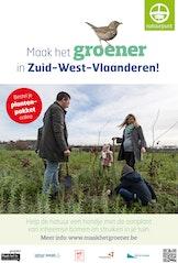 Maak het groener in Zuid-West-Vlaanderen - verkoopactie plantgoed