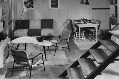 Spaces. Interior design evolution