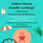 Ghanese familiebarbecue met Anidaso Abusua