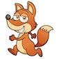 Pros de vos woont in het bos!
